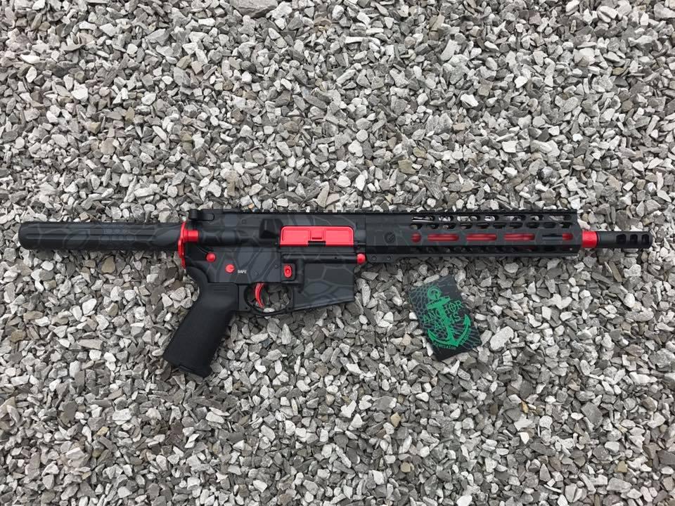 Palmeto PA-15 Pistol (H-167 USMC Red, H-234 Sniper Grey, H-146 Graphite Black)